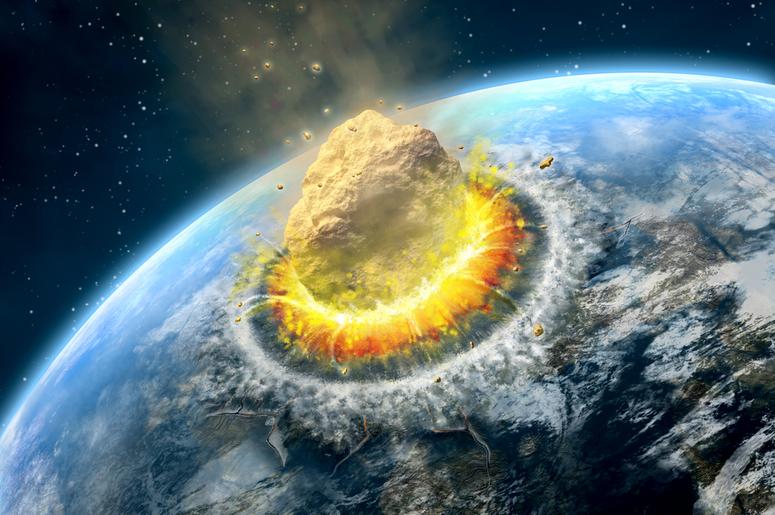 огромный метеорит упал на Землю 800 000 лет назад