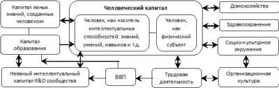 Модель концепции человеческий капитал