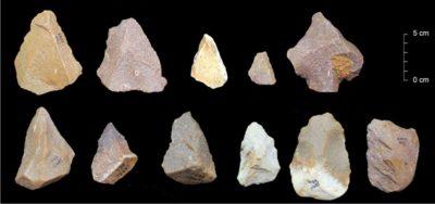 Каменные орудия из Аттирампаккамы